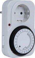 Heitronic Elektromechanische Zeitschaltuhr weiß (46900)