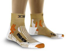 X-Bionic Speed Metal Short gold / white