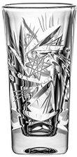 Crystal Julia 2289 Vodkaglas Kristall, 50 ml, 6 Einheiten, 4 x 4 x 8,5 cm