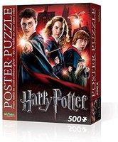 Wrebbit Poster-Puzzle Hogwarts School