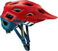 Mavic Crossmax Pro Helm rot-blau