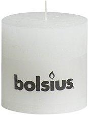 Bolsius Rustik weiß 10x10cm (103867500302)