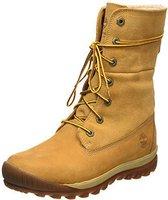 Timberland Woodhaven Fleece-Lined WP Women's yellow teddy/wheat
