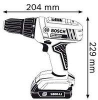 Bosch GSR 1800-LI Professional (06019A8306)