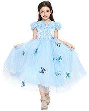 Katara Prinzessin Cinderella Schmetterlings-Kleid mit Tüll-Rock (1758)