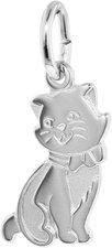 Trendor Silber-Anhänger Katze (35833)
