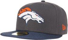 New Era Denver Broncos NFL Ballistic Visor 59FIFTY grey/navy