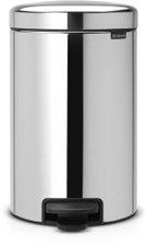 Brabantia newIcon 12 Liter brilliant steel mit Zinkeinsatz