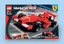 LEGO 8362 Ferrari F1 Racer 1:24