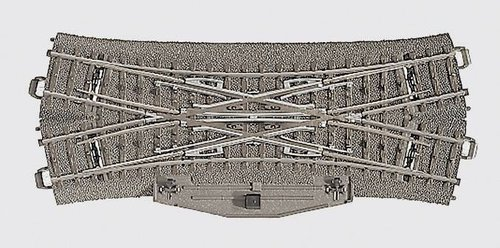 Märklin 24624 - Doppelkreuzungsweiche 188,3 m (H0)
