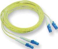 Elo Tyco LWL Kabel Duplex LC/LC 50/125 OM2 10m
