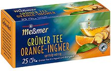 Meßmer Grüner Tee Orange-Ingwer (25 Stück)