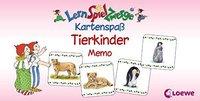 Loewe Verlag LernSpielZwerge Tierkinder Memo
