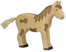 Holztiger Pferd gefleckt
