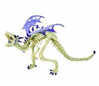 Plastoy Skelettdrache violett