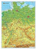 Ravensburger Puzzle 10774 Deutschlandkarte geografisch