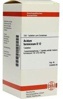 DHU Acidum Formicicum D 12 Tabletten (200 Stk.)