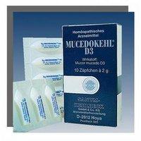 SANUM-Kehlbeck Mucedokehl D 3 Suppositorien (10 x 10 Stk.)