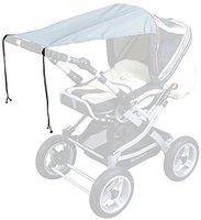 Sunnybaby Sonnensegel für Kinderwagen UPF 50 + hellgrau