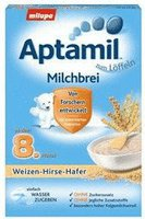 Milupa Aptamil Milch-Getreide-Brei Weizen-Hirse-Hafer