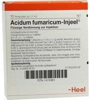 Heel Acidum Fumaricum Injeele 1,1 ml (10 Stk.)