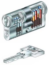 ABUS Pfaffenhain Wavy Line - Profildoppelzylinder 35/60