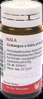 WALA Crataegus E Fol Et Fruct. D 2 Globuli (22 g)