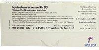 Weleda Equisetum Arvense Rh D 3 Ampullen (8 x 1 ml)