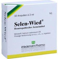 Wiedemann Pharma Selen Wied Ampullen (10 Stk.)