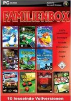 UIG Entertainment Familienbox - 10 fesselnde Vollversionen (PC)