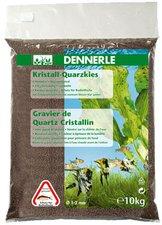 DENNERLE Kristall-Quarzkies Dunkelbraun 10kg