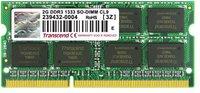 Transcend 2GB SO-DIMM DDR3 PC3-10666 (JM1333KSU-2G) CL9