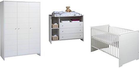 Schardt Kinderzimmer ECO Stripes (3-teilig, 3-türig)