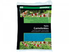 DENNERLE Nano Garnelenkies azurblau 2 kg