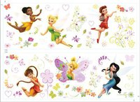 Decofun 40252B Wandaufkleber Fairies
