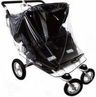 Harmatex Zwillingskinderwagen - Regenhaube PVC-Folie