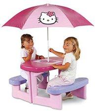 Smoby Hello Kitty Picknicktisch mit Sonnenshirm
