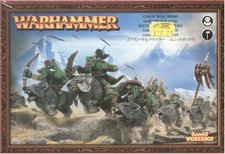 Games Workshop Warhammer Goblin Wolfsreiter