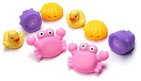 Playgro Badespiel-Set rosa