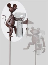 Gartenstecker Maus