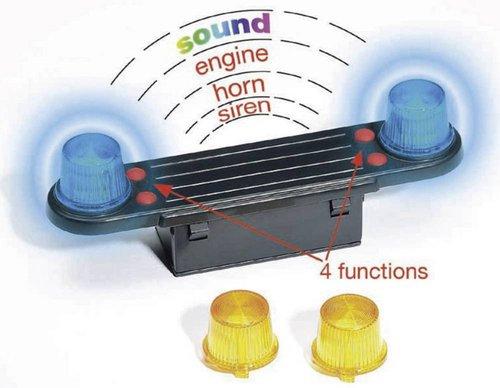 Bruder Licht und Sound Modul (02801)
