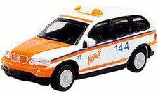 """Schuco BMW X5  """"Notruf 144 """" (25158)"""