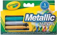 Crayola Filzstifte Metallic 5 Stück