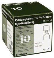 B. Braun Calciumgluconat 10% Mpc Injektionslösung (PZN 4208950)