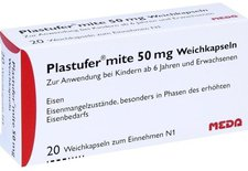 Valeant Plastufer Mite 50 Mg Kapseln (PZN 4569694)