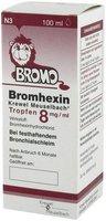 Krewel Meuselbach Bromhexin Tropfen 8mg/ ml (PZN 7291822)