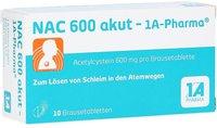 1A Pharma Nac 600 Akut Brausetabletten (10 Stück)