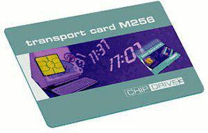 SCM Chipdrive Time Recording Transport-Karte