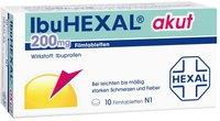 Hexal Ibu Akut 200 Filmtabletten (10 Stück)