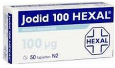 Hexal Jodid 100 Tabletten (50 Stk.)
